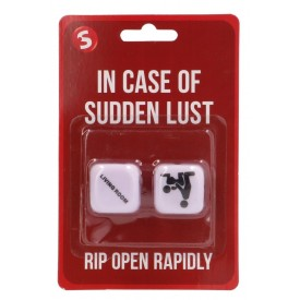 Игральные кубики In Case Of Sudden Lust Sex Dice